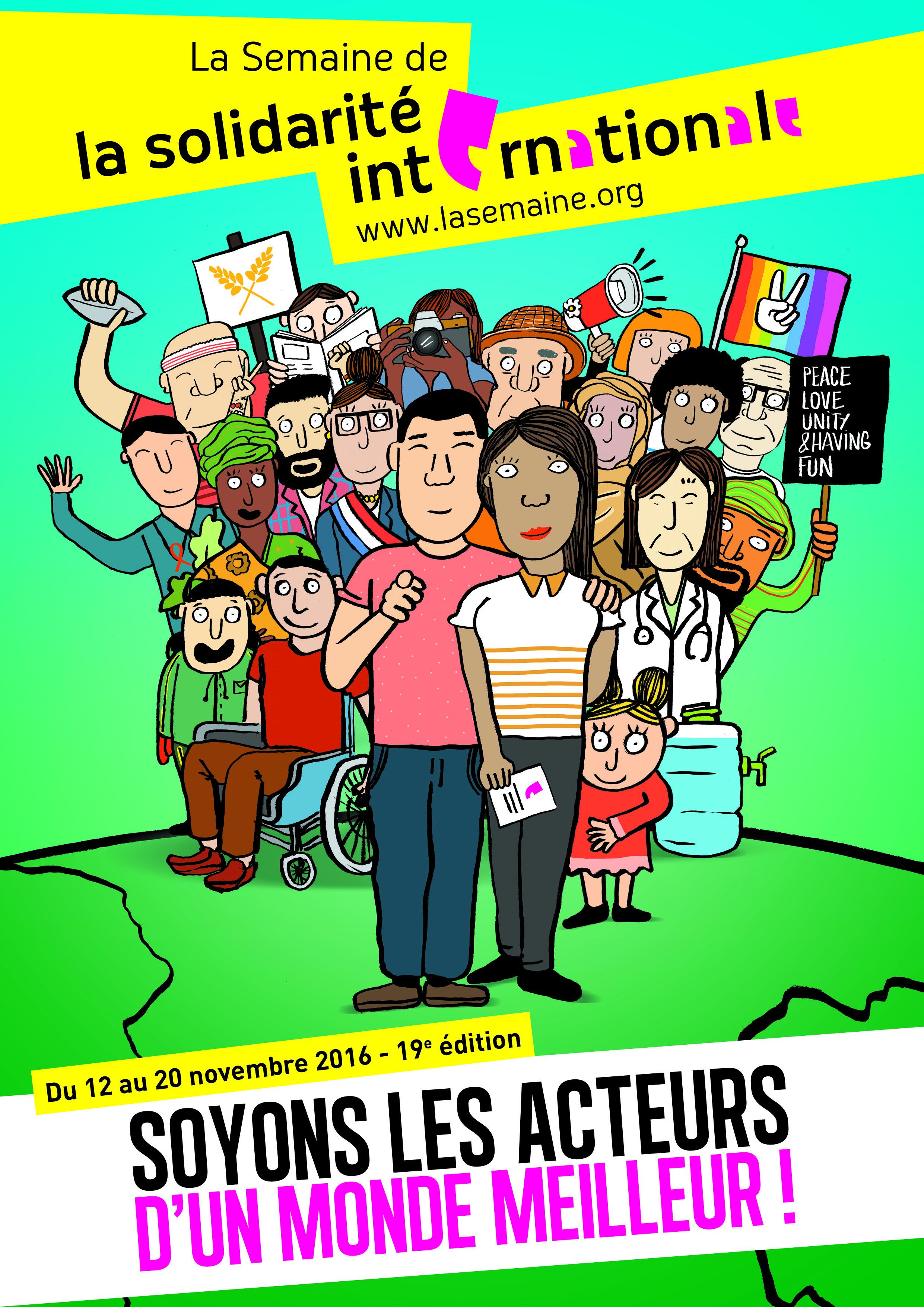 Semaine de la Solidarité Internationale dans le Bugey!