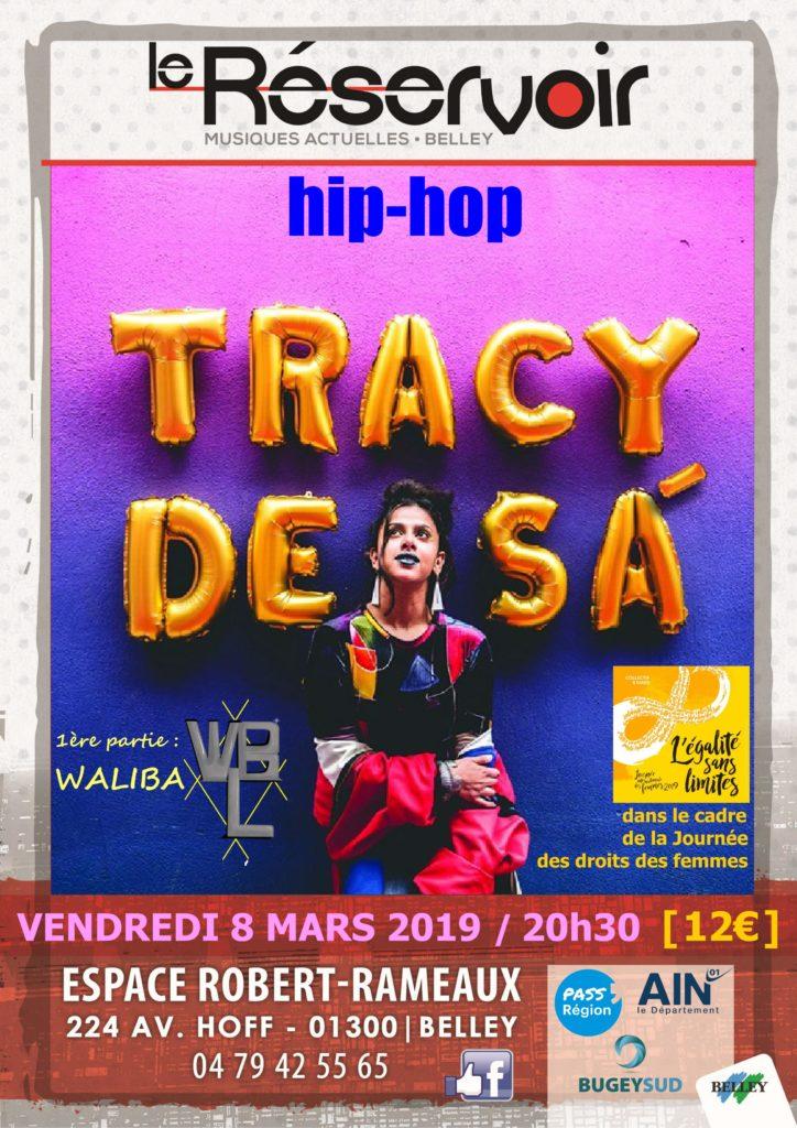 Tracy de Sà en concert à Belley