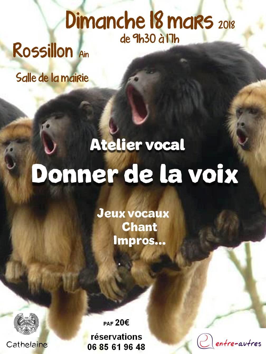 atelier vocal