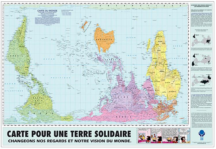 La Semaine de la Solidarité internationale. Soirée Qu'est ce qui se passe dans le monde? organisée par entre-autres au Palais épiscopal.